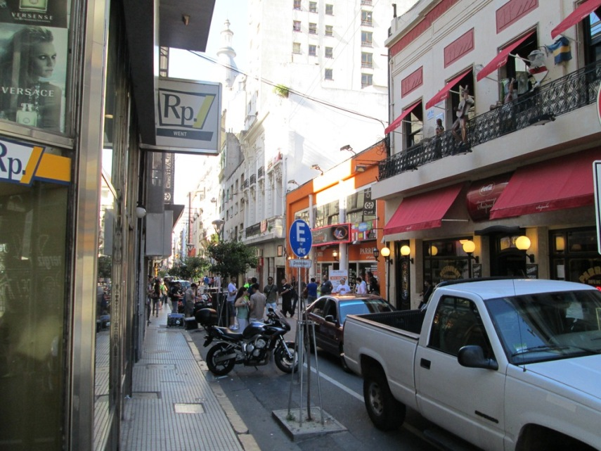 Microcentro street scene