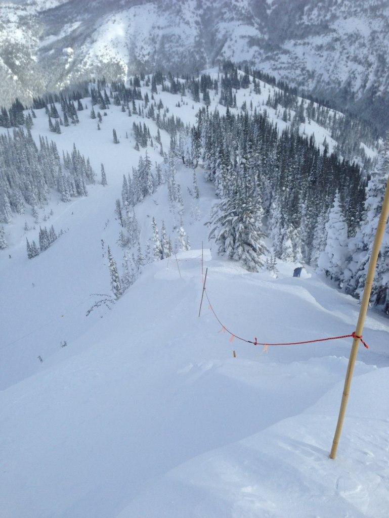 Ropeline on Grubstake Point / Snorting Elk Bowl
