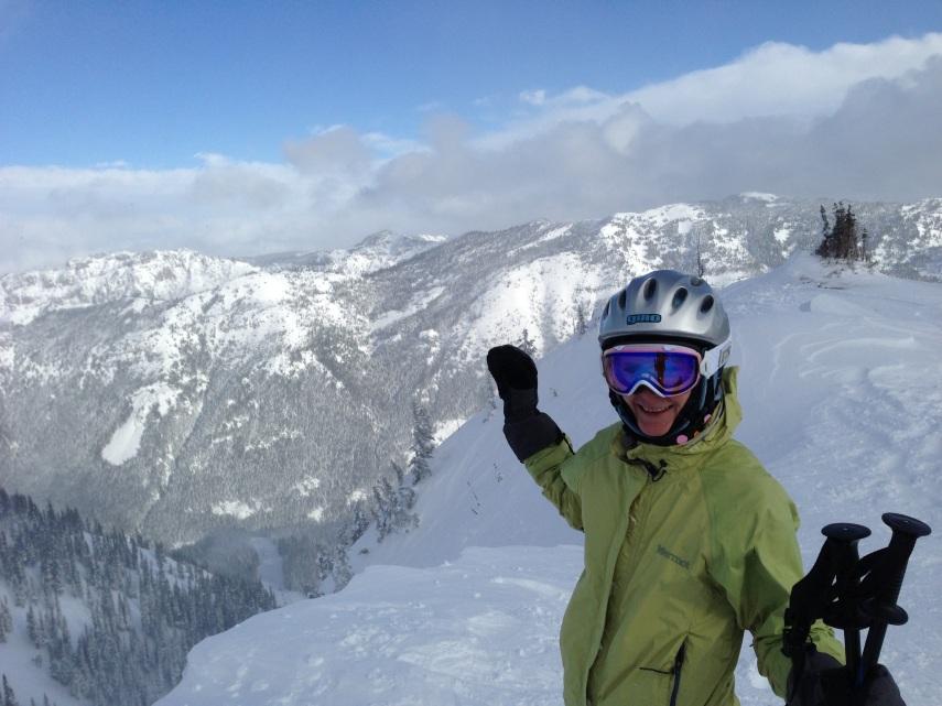 Anya on Northway Peak