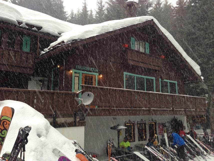 Everyone's favorite apres-ski bar, the Snorting Elk Cellar