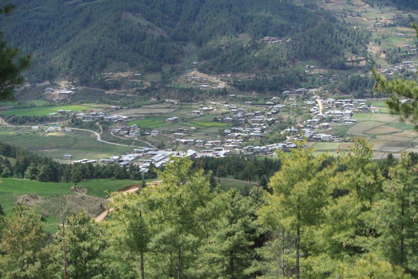 Jakar town, Bumthang, Bhutan