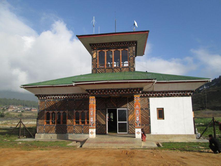 Bumthang airport