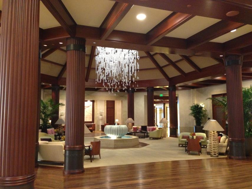 St Regis Princeville lobby