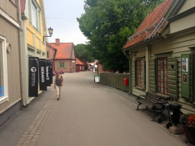 Sigtuna's main street