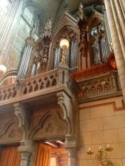 This would likely be a great place for some organ music
