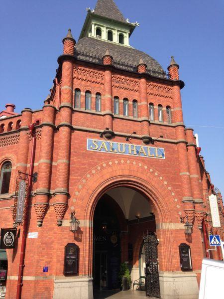 Östermalms Saluhall, a classic old food hall