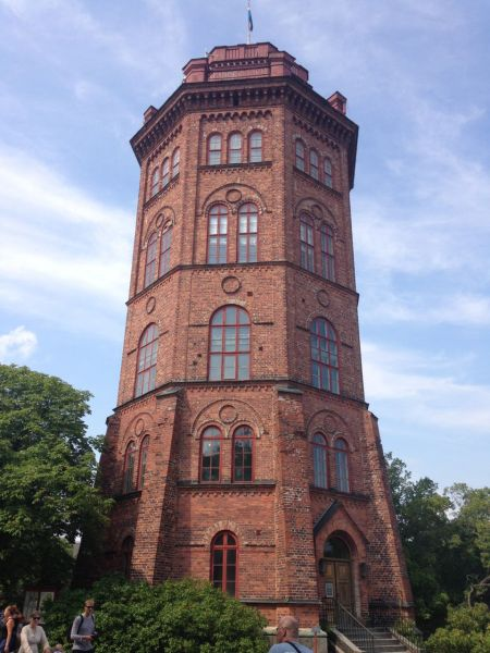 This tower preceded Skansen (it wasn't relocated there)