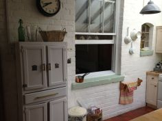 Our rental was an house from 1819 that had a new kitchen added on to the back