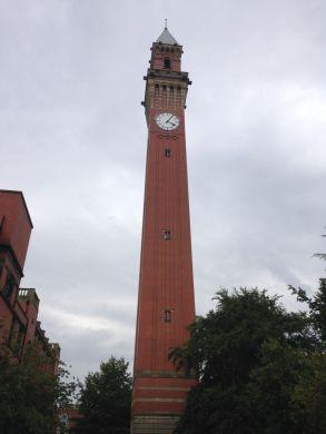 """Old Joe"", the clock tower at the University of Birmingham"