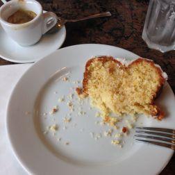 Lemon bread & espresso